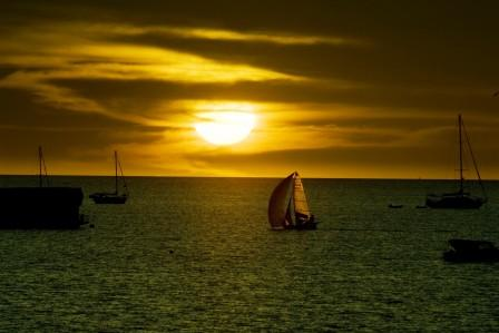 Darwin Harbor Sunset- Northern Territory, Australia