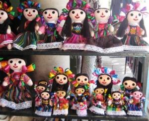 Mexican Dolls Near Lake Chapala