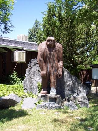 Big Foot Sculpture in California