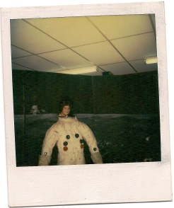 Me Trying to Look Like an Astronaut, 1981, Kennedy Space Center, Fla.