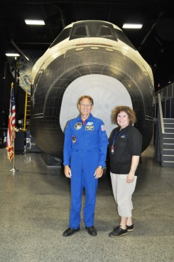 Astronaut Sam Durrance and Me, Astronaut Training Experience, July 2, 2011