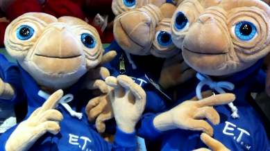 """It Was Tough, But Had to Say """"No"""" to a Plush E.T."""