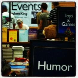 Stephen King, Barnes & Noble in Sarasota, Fla., Nov. 14, 2011
