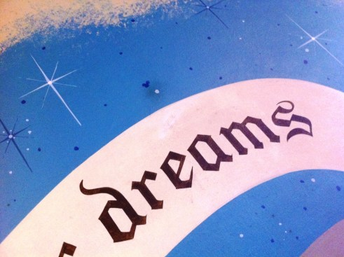 """See the Hidden Mickey Above the World """"Dreams""""?"""