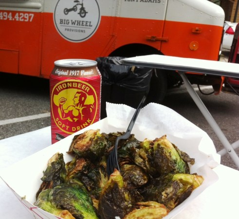 Roasted Brussels Sprouts by Big Wheel Provisions