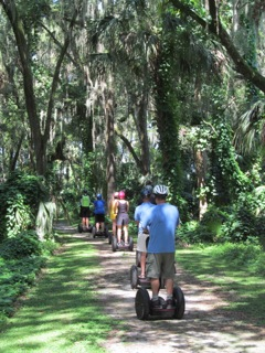 Gliding Along and Discovering Mount Dora's Serenity with Segway of Central Florida