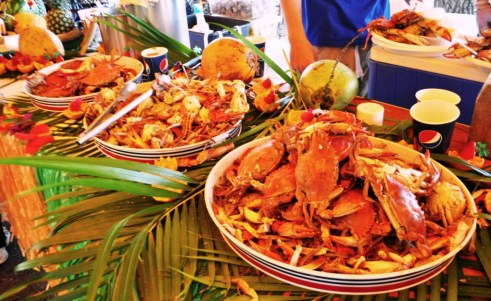 Blue Crabs! Peace River Seafood's 10th Anniversary Party, Punta Gorda, Fla., Feb. 2, 2013