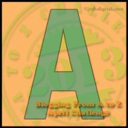 """Monday, April 1, 2013, is Brought to You by the Letter """"A"""""""