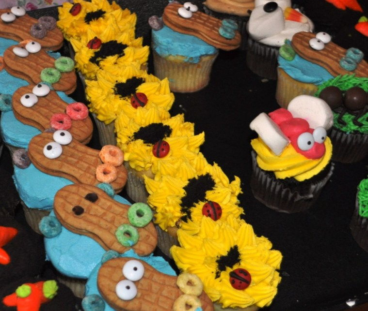Some of the 1,000 Creative Cupcakes, Cupcake Lovers Weekend, Hilton Orlando Bonnet Creek, Orlando, Fla., June 15, 2013