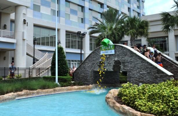 And, They're Off! Ducktona 500, SummerBlast!, Hilton Orlando Bonnet Creek, Orlando, Fla., June 15, 2013