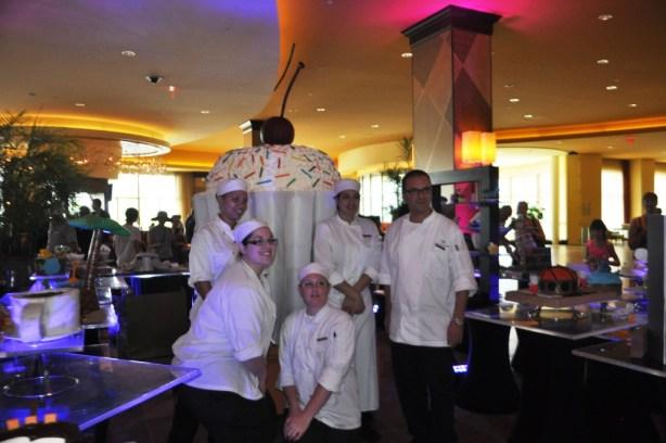 Pastry Staff Before the Big Cupcake Reveal, Cupcake Lovers Weekend, Hilton Orlando Bonnet Creek, Orlando, Fla., June 15, 2013