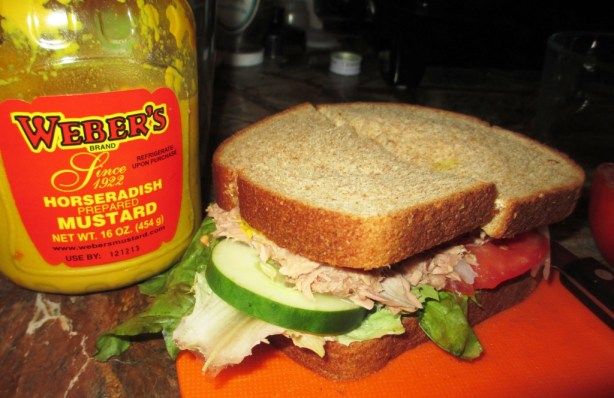 Okay, I Went a Little Overboard by Eating a Tuna Sandwich for Lunch Daily for a Week, with My Buffalo-Made Weber's Mustard