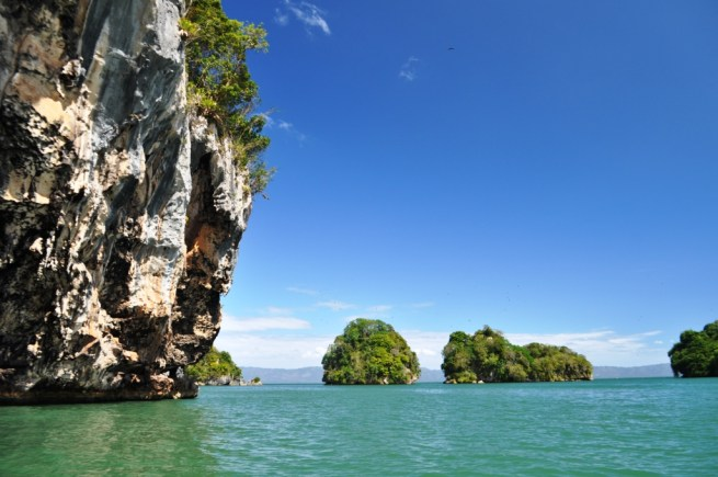 Some of the 58 Keys in Los Haitises National Park, Samaná, Dominican Republic