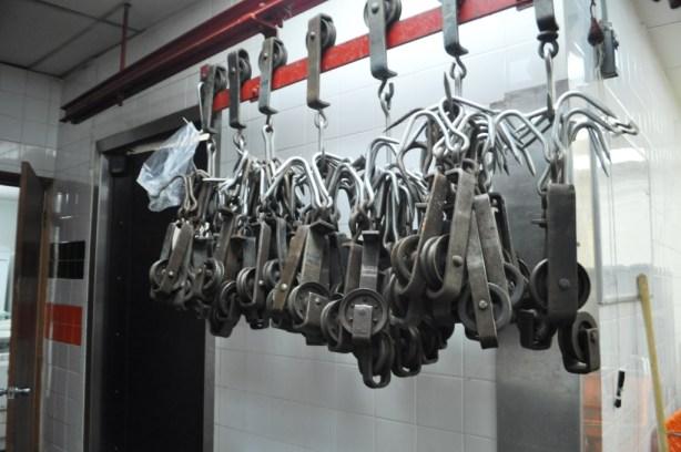 Meat Hooks at Cannuli Bros. , Philadelphia