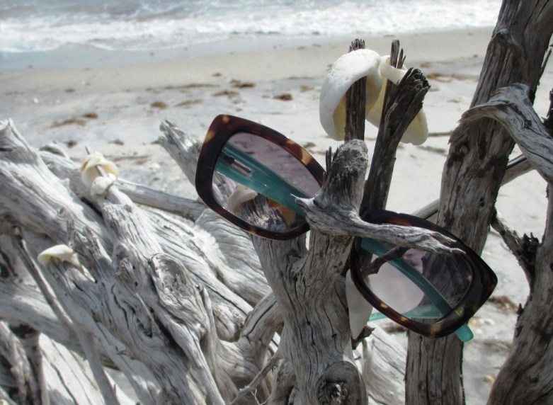 Light Blue Cat Eye Bifocal Reading Sunglasses Are Polarized and UVA and UVB Protective, Making Them Ideal for Wearing Outdoors