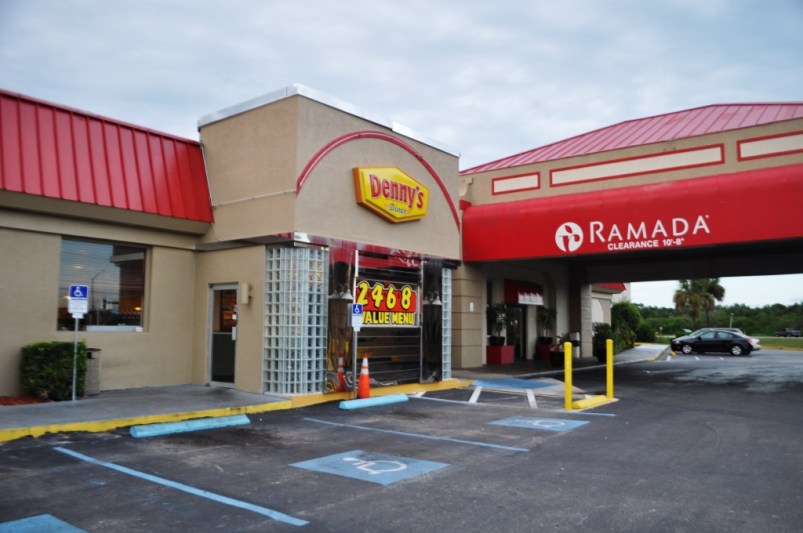 Denny's in Titusville, Fla., Located at the Ramada