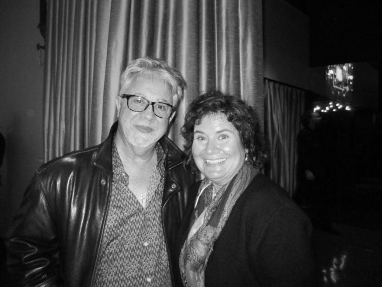 Danny Flowers and Me at a Recording for SiriusXM radio's Music City Connection: Heroes Behind the Hits, Nov. 20, 2014