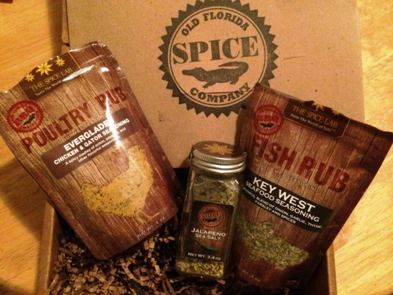 Some of the Old Florida Spice Company Line by The Spice Lab
