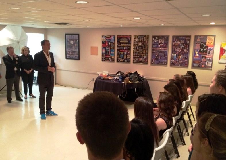 Dan Buettner Discusses Blue Zones with Sarasota-Area Students During His Feb. 2015 Visit to Sarasota, Fla.