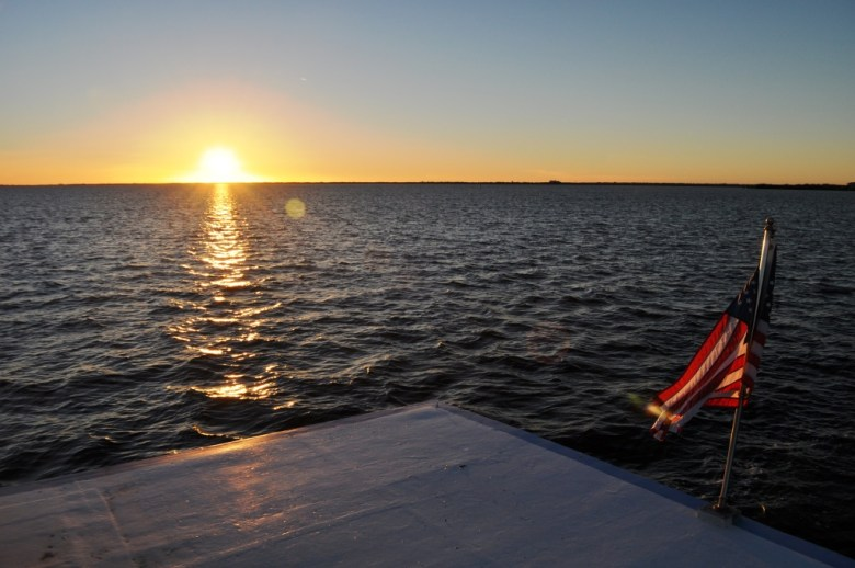 There's Nothing Like Watching a Sunset Over the Water from a Boat