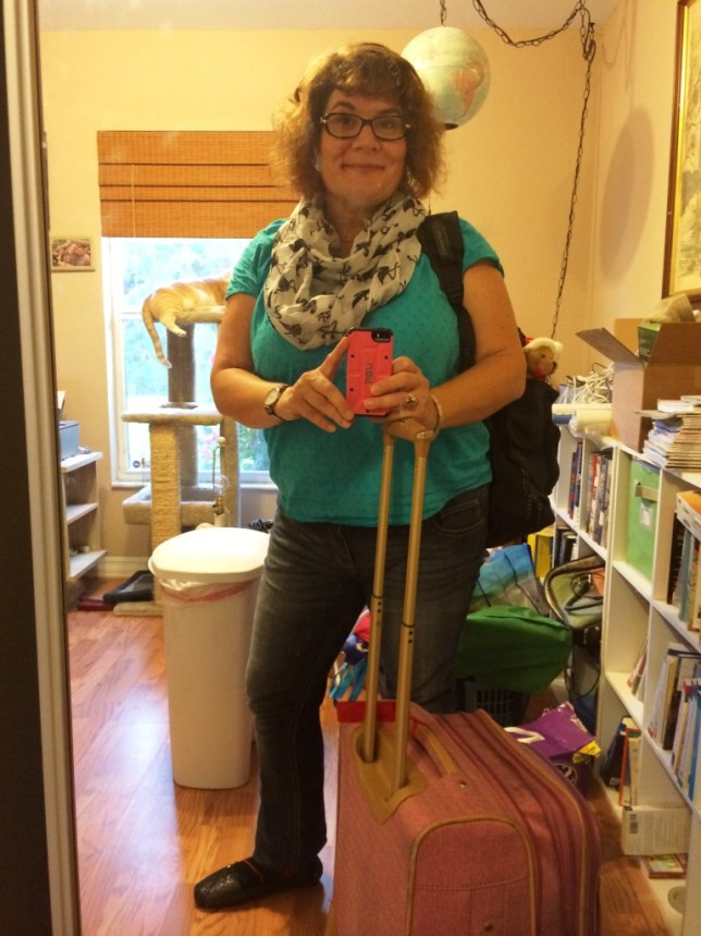 That's Me Before Leaving on a 10-Day Adventure in Portugal with #VikingCruises, Can You See I'm Wearing My Sockwell Compression Socks?