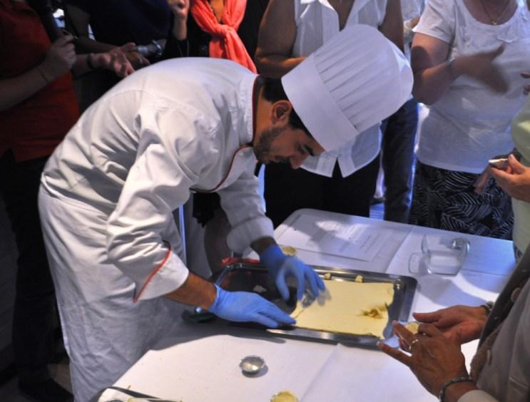 Viking River Cruises Chef Pedro Ribeiro Demonstrates How to Make Pastel de Nata, a Sweet Tart