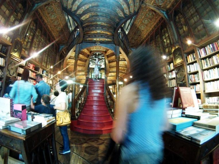 Walking into Livraria Lello Was Like Stepping into a Harry Potter Novel, Porto, Portugal