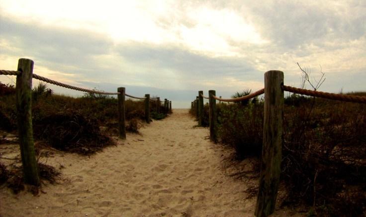 Blind Pass Beach on Manasota Key in Sarasota County, Fla.
