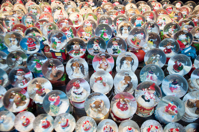 Snow Globes at the Frankfurt Christmas Market, 2015