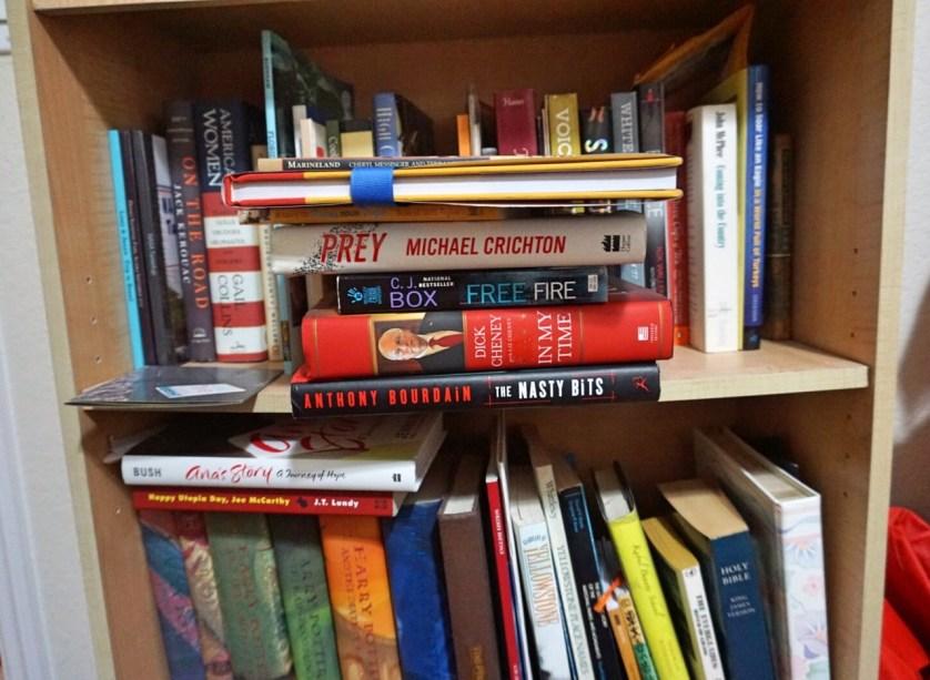 I Love Books! One of My Bookshelves.