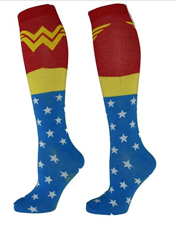 Wonder Woman Knee High Socks