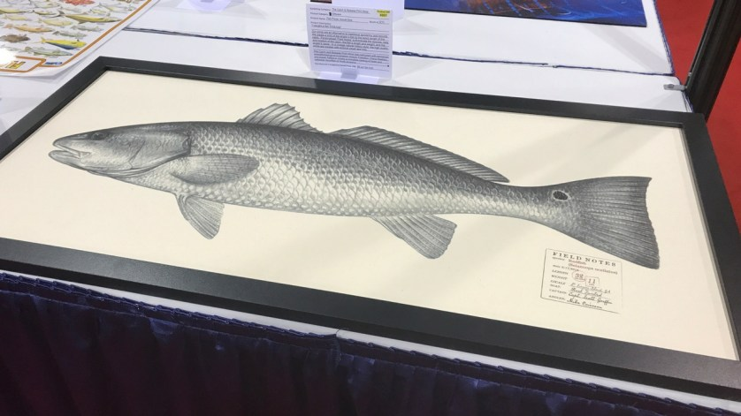 ICAST 2017: Best Giftware - Catch and Release Gift Shop Fish Prints.