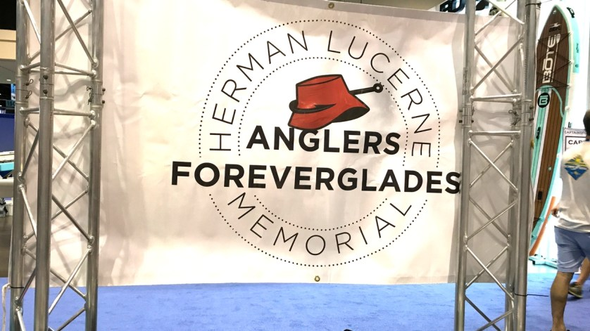 On the ICAST Show Floor - Herman Lucerne Memorial Fishing Tournament Benefits the Everglades..