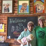 Brownie the Town Dog Inspires Dog-Friendly Daytona Beach