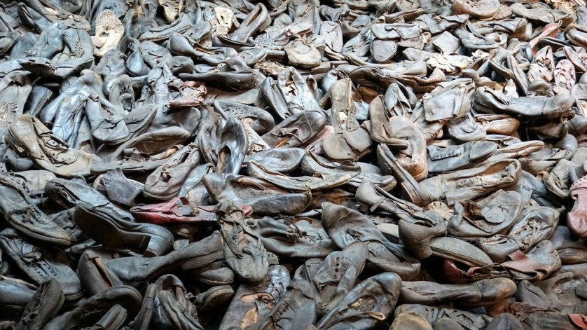 Shoes of Holocaust Victims on Display at the U.S. Holocaust Memorial Museum, Washington, D.C., Jan. 21, 2017