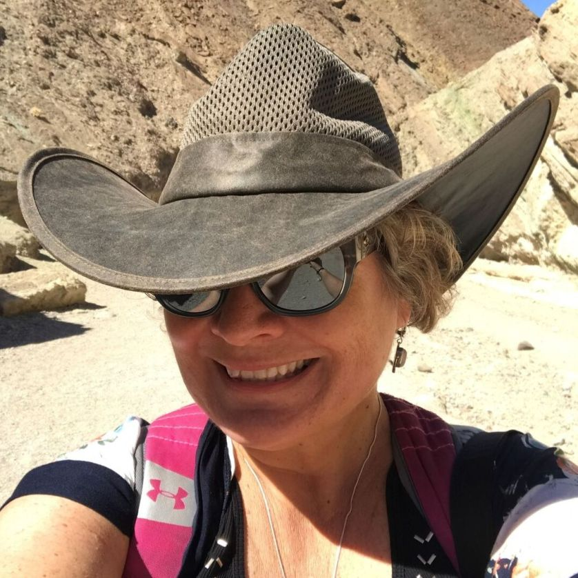 That's Me in Death Valley Sporting a Pop Hat and Costa Sunglasses' WaterWoman Eyewear, Aug. 2019