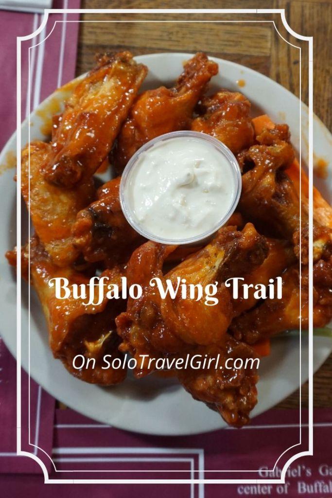 Pin it! Buffalo Wing Trail on SoloTravelGirl.com