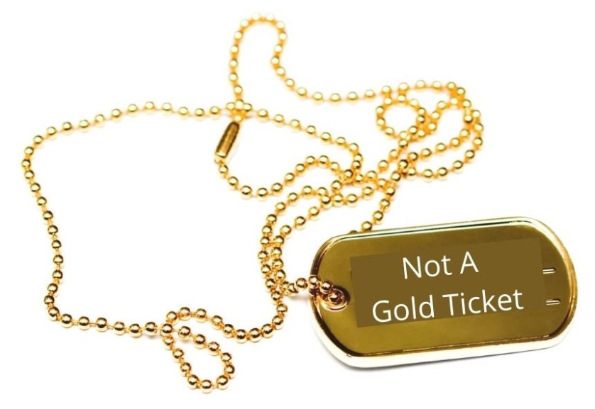 Will the Gold Ticket Look Like This?