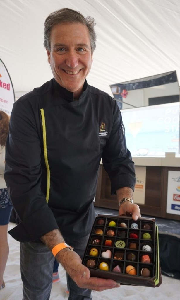 Culinary Artist Norman Love of Norman Love Confections During 2017 Clearwater Beach Uncorked.