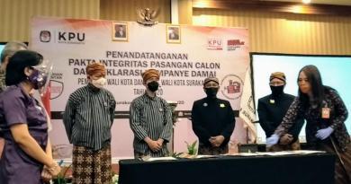 Dua Paslon Pilkada Solo Deklarasi Kampanye Damai