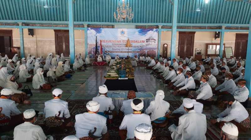 Keraton Kasunanan Surakarta Hadiningrat, menggelar Tahlil Dzikir Kholdalem Sultan Agung Hanyokrokusumo