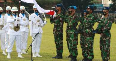 Dankodiklatau Lantik 376 Bintara TNI AU A-46