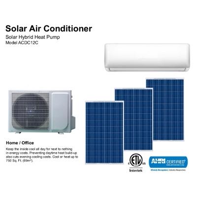 Solar Air Conditioner  Model ACDC12C