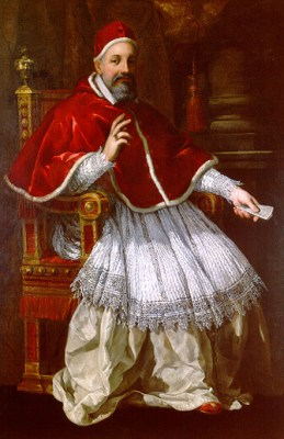 Cortone Portrait du pape Urbain VIII