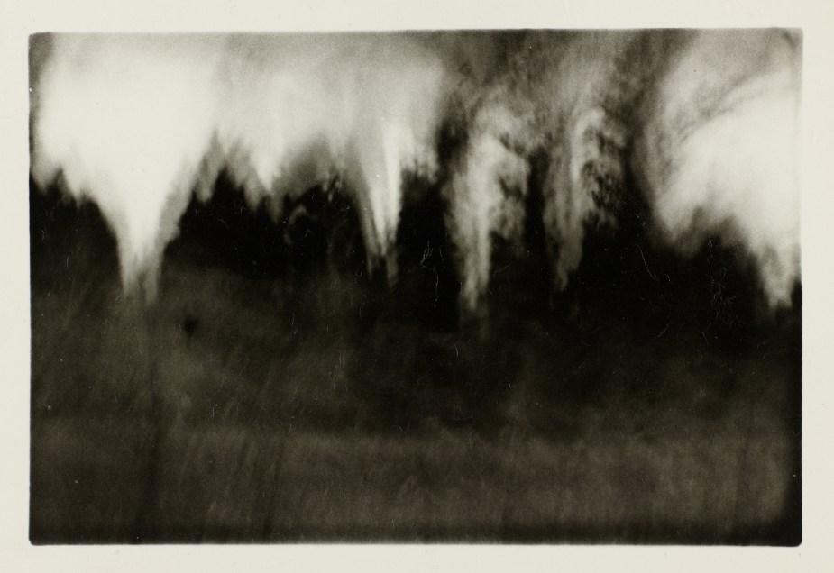 """Alix Cléo Roubaud, """"15 minutes la nuit au rythme de la respiration."""", 1979"""