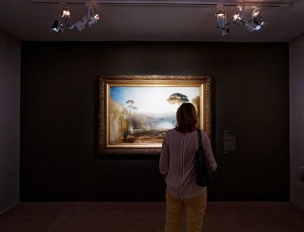 exposition Turner - peinture à l'huile