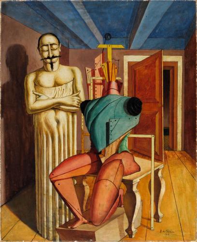 Chirico, exposition au musée de l'Orangerie, Paris, 2020