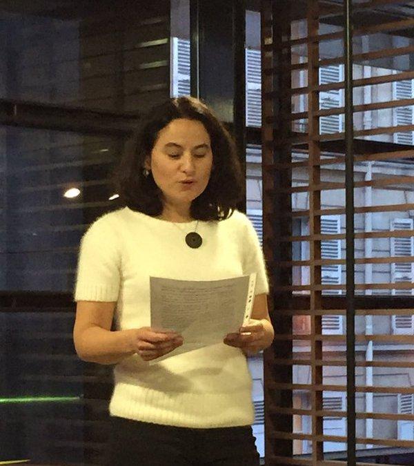 Second prix de la recherche coopérative pour Sarah Buih !