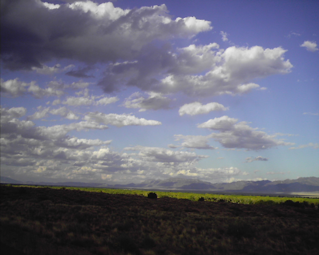 More October skies in New Mexico