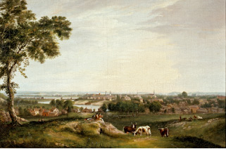 View of Salem From Gallows Hill, (1818), Alvan Fisher